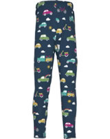 Frugi Leggings LIBBY space blue Rainbow Roads LES903SRS
