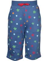Frugi Samson Sweat-Shorts Starry Sky blau Sterne SHS954STY