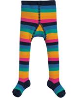 Frugi Strumpfhose Frottee TOASTY rainbow stripe TIA908RBS