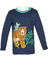 Frugi T-Shirt Adventure Langarm TIGER space blue/Tiger TTA951SRR