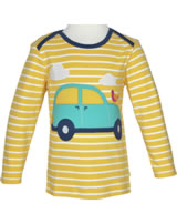 Frugi T-Shirt Bobby Langarm AUTO bumble bee breton/Car