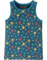 Frugi Unterhemd VOYAGER VEST steely blue multi star ACS012SMI