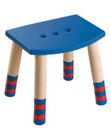 HABA Hocker Puck blau 2919