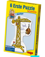 HABA 6 Erste Puzzles - Baustelle 3901