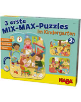 HABA 3 First Mix Max Puzzles - In the Kindergarten 304431