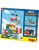 HABA 3 Puzzles Leo Timmers Mister René 300495