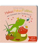 HABA Buch Hokus Pokus Fidibus, wer bekommt den Zauberkuss? 300639