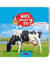 HABA Buch Was meinst du? - Bauernhoftiere 304015