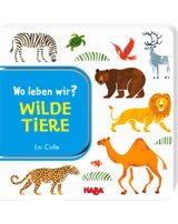 HABA Buch Wo leben wir? - Wilde Tiere 304011