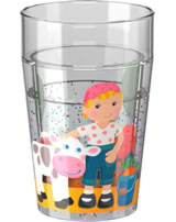 HABA Glitzerbecher Litle Friends Bauernhof 303426
