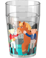 HABA Glitzerbecher Litle Friends Reiterhof 303424