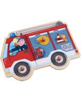 HABA Greifpuzzle – Feuerwehrauto 304594