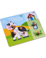 HABA Clutching Puzzle - Annabell the Cow 304591