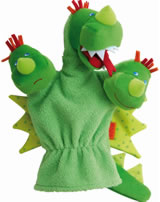 HABA Glove Puppet Dragon 300488