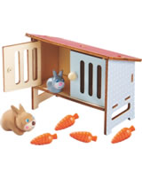HABA Hase Mimi mit Stall - Little Friends 303094