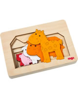 HABA Wooden Puzzle Farm Animals 304611