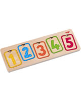 HABA Wooden Puzzle First Numbers 304587