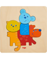 HABA Holzpuzzle Haustiere 304610