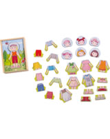 HABA Wooden Puzzle Lilli´s Favorite Clothes 301060