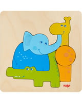 HABA Holzpuzzle Zootiere 304609