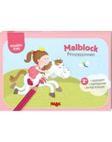 HABA Kreativ Kids - Malblock Prinzessinnen 304439