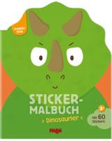 HABA Kreativ Kids - Sticker-Malbuch Dinosaurier 304434