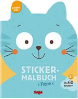 HABA Kreativ Kids - Sticker-Malbuch Tiere 304435