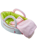 HABA Dolls Carry Cot Apple green 305071
