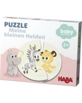 HABA Puzzle Meine Helden, rosa - baby by Dreamworks 302905