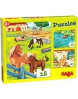 HABA Puzzles Bauernhoftiere 305237