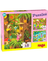 HABA Puzzles Glitzerndes Feenland 305197