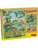 HABA Puzzles – Wilde Tiere in Afrika 303348