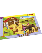 HABA Rahmenpuzzle Pferdehof 304654