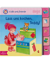 HABA Register-Klappenbuch Lilli and Friends Lass uns kochen, Teddy 301460
