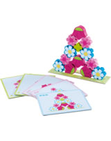 HABA Stacking Game Magic Flowers 302576