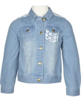 Happy Girls Jeans-Jacke mit Spitze light blue 771305-60