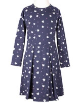 Happy Girls Jersey-Kleid Langarm HERZEN navy 973109-62