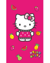 Hello Kitty Badetuch/Strandtuch Fruity