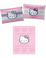 Hello Kitty Set Kissen Amaya und Fleece-Decke Alexandra