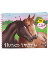 Horses Dreams Malbuch