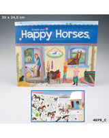 Horses Dreams Malbuch / Bastelbuch Create your Happy Horses