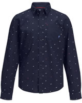 Jack & Jones Junior Hemd Langarm JCOCARLO sky captain 12168167