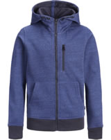 Jack & Jones Junior Hoodie Kapuzenjacke JCOBEST navy peony 12168359