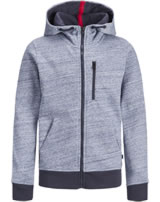 Jack & Jones Junior Hoodie Kapuzenjacke JCOBEST sky captain 12168359