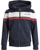 Jack & Jones Junior Hoodie Kapuzenjacke navy blazer 12159309
