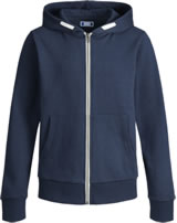 Jack & Jones Junior Hoodie Kapuzenjacke NOOS navy blazer 12148625