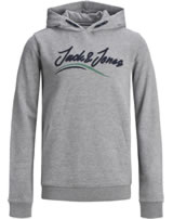 Jack & Jones Junior Hoodie Kapuzenpullover JORFLEXX light grey m. 12168372