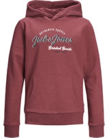 Jack & Jones Junior Hoodie Kapuzenpullover NOOS rio red 12158423
