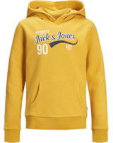 Jack & Jones Junior Hoodie Kapuzenpullover NOOS yolk yellow 12158423