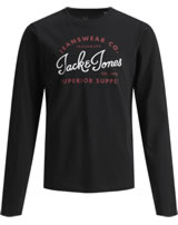 Jack & Jones Junior T-Shirt Langarm NOOS black 12154561